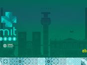 Logótipo do evento, acompanhado de várias informações (data, local, sítio web, entidades organizadoras)