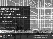 Imagem ilustrativa do evento, acompanhada de várias informações (título, dia, hora, local, orador e entidades participantes)