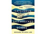 "Capa do livro ""The Catalogue of Shipwrecked Books"""