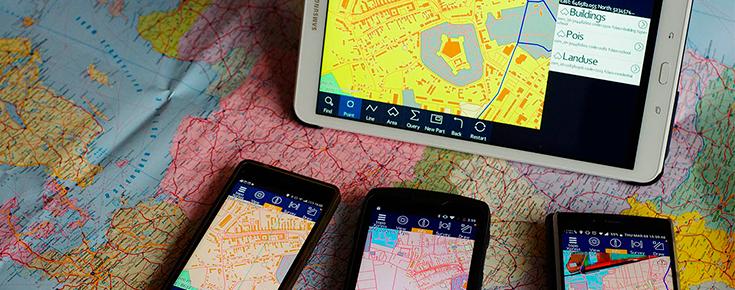 mapas e dispositivos moveis
