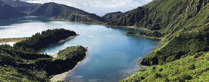 Lagoa nos Açores