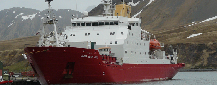 navio James Clark Ross