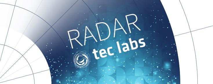 Imagem gráfica da rubrica Radar Tec Labs