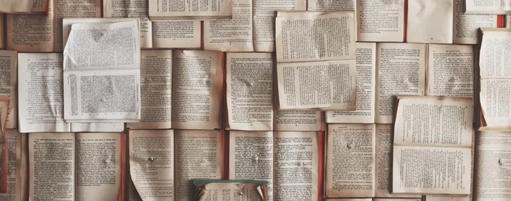 Páginas de livros
