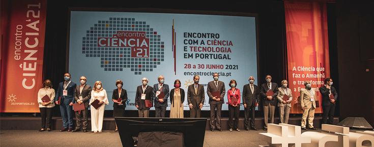 Encontro Ciência 2021 - Dezoito cientistas recebem as medalhas de mérito científico