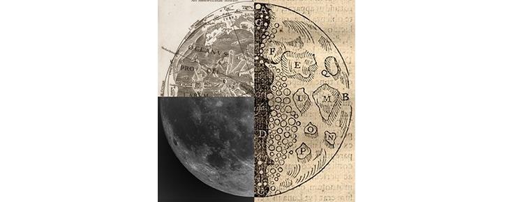 """Exposição """"Cartografia histórica da Lua - Nos 50 anos da Apollo 11"""""""