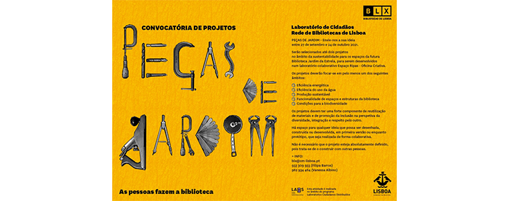 Cartaz da iniciativa