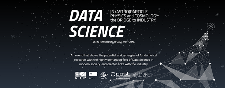 "School and Symposium ""Data Science in (Astro)Particle Physics and Cosmology: the Bridge to Industry"""