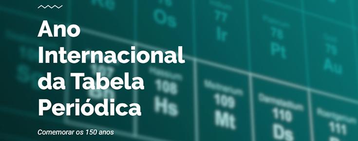 IYPT 2019 - Ano Internacional da Tabela Periódica em Ciências ULisboa