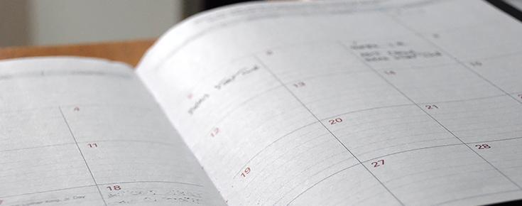 Fotografia de calendário