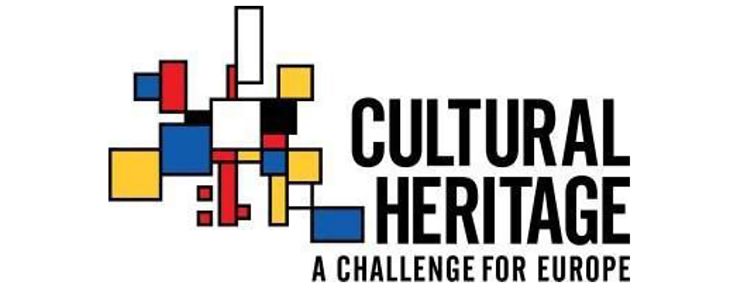 Logótipo do concurso Cultural Heritage - A Challenge for Europe