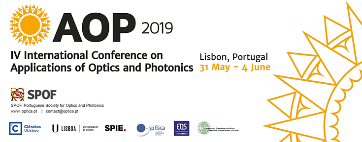 AOP 2019 - IV International Conference on Applications in Optics and Photonics