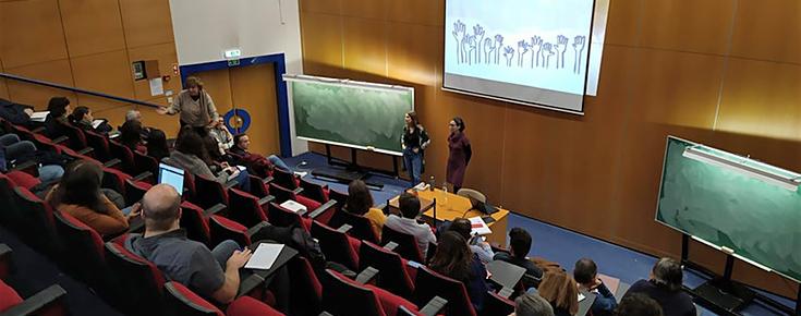 Fotografia de auditório de Ciências ULisboa