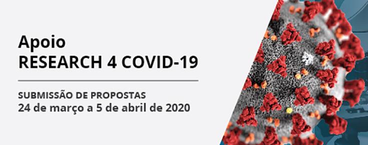 Título da iniciativa, acompanhado das respetivas datas e de uma imagem ilustrativa da COVID-19