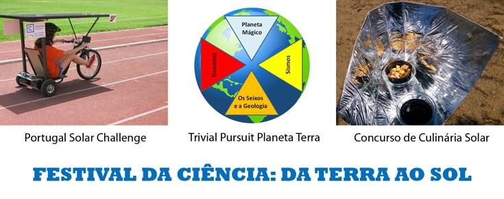 Cartaz do Festival da Ciência
