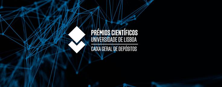 Logótipo dos Prémios Científicos Universidade de Lisboa / Caixa Geral de Depósitos
