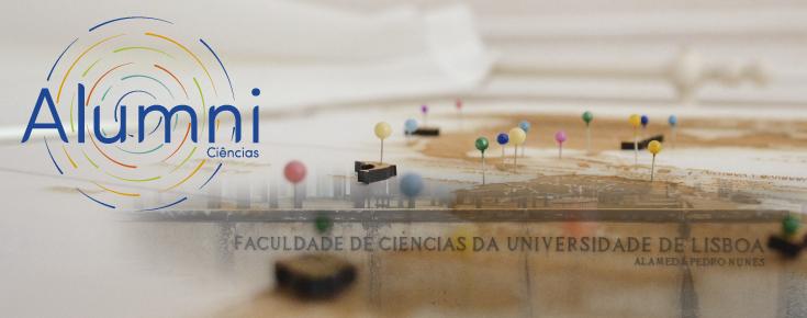 Logótipo da Rede Alumni de Ciências