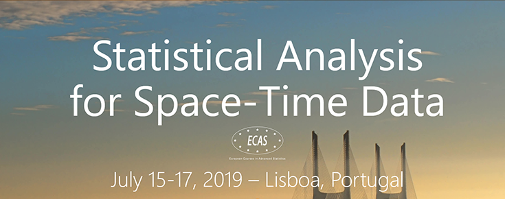 """The European Courses in Advanced Statistics """"Statistical Analysis for Space-Time Data"""""""