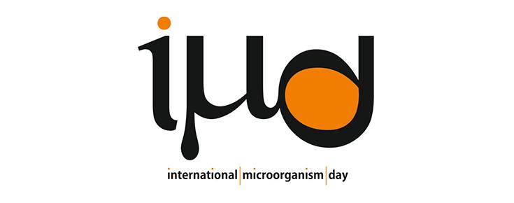 Logótipo das Comemorações do Dia Internacional do Microrganismo