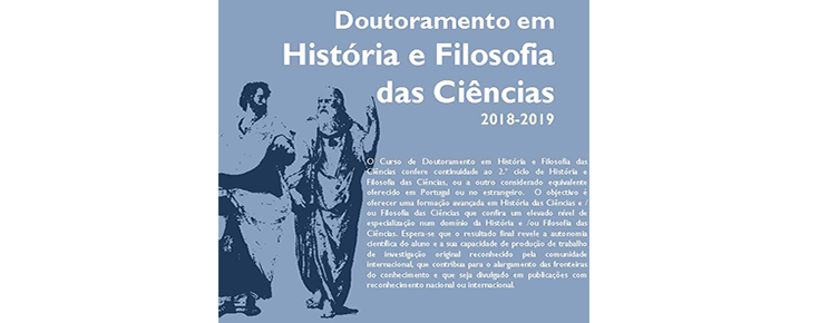 Doutoramento em História e Filosofia das Ciências