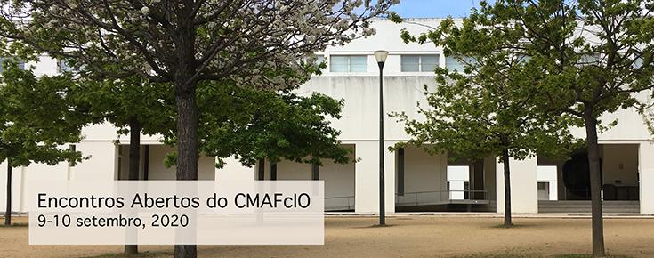 Título da iniciativa, colocado sobre uma fotografia do edifício C6 de Ciências ULisboa