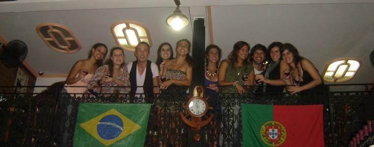 Alunos brasileiros
