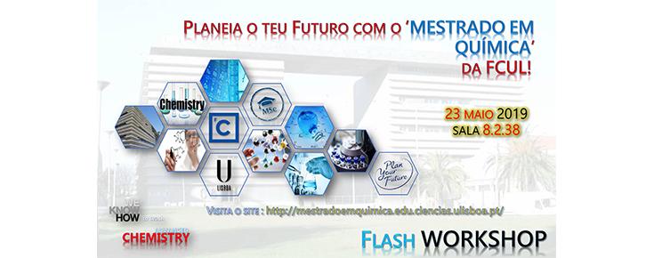 Planeia o teu futuro com o Mestrado em Química da FCUL!