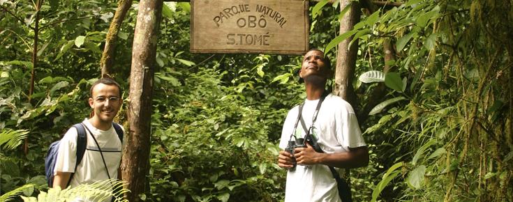 Ricardo Lima investiga em São Tomé e Príncipe