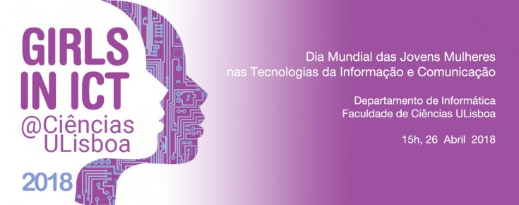 Cartaz do Girls in ICT 2018