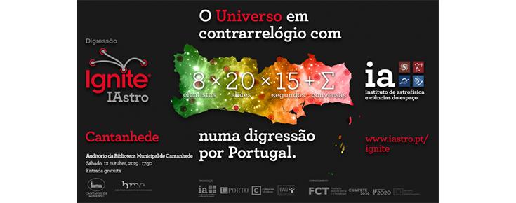 Imagem ilustrativa do evento, acompanhada de várias informações (título, dia, hora, local e entidades intervenientes)