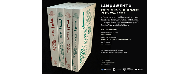 """Volumes da Coleção """"Ciência, Tecnologia e Medicina na Construção de Portugal"""""""