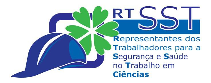 Logótipo dos RTSST, sobre um fundo branco
