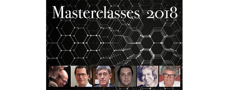 Masterclasses 2018 - ciclo de grandes palestras