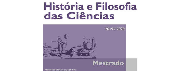 Mestrado em História e Filosofia das Ciências
