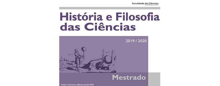 Imagem ilustrativa do Mestrado em História e Filosofia das Ciências