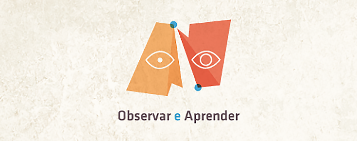 "Logótipo do projeto ""Observar e Aprender"""