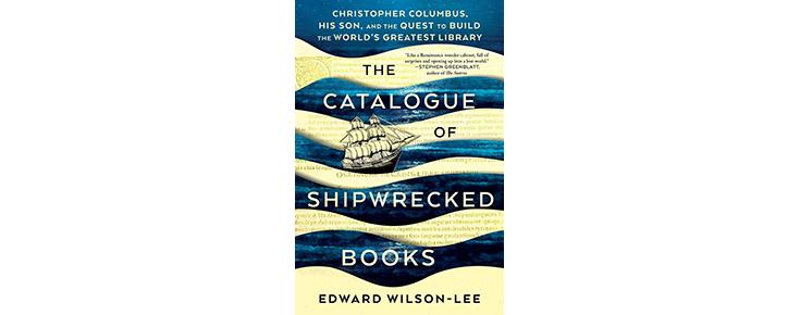 """Capa do livro """"The Catalogue of Shipwrecked Books"""""""