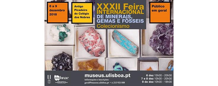 XXXII Feira Internacional de Minerais, Gemas e Fósseis